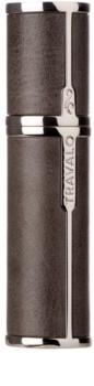 Travalo Milano Case U-change Recipient metalic pentru parfum reîncărcabil unisex    Grey