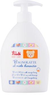 Trudi Baby Care loción de baño para niños con miel de flores de naranjo