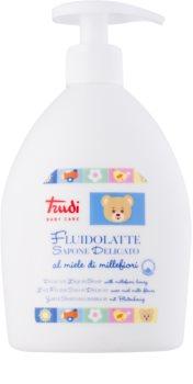 Trudi Baby Care delikatne mydło w płynie dla dzieci z kwiatowym miodem