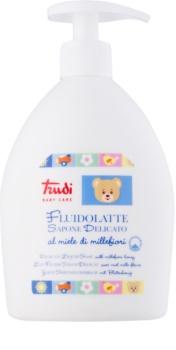 Trudi Baby Care jemné dětské tekuté mýdlo s květinovým medem45/5000delikatne mydło w płynie dla dzieci z kwiatowym miodem