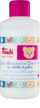 Trudi Baby Care čistiace hydratačné mlieko s peľovým extraktom pre deti