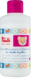 Trudi Baby Care lapte demachiant hidratant cu extract de polen pentru copii