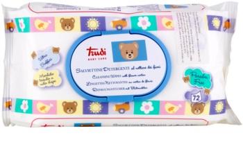 Trudi Baby Caresalviette detergenti umidificate con nettare di fiori