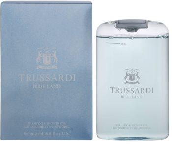 Trussardi Blue Land gel de duche para homens 200 ml