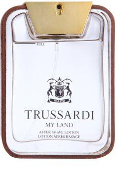 Trussardi My Land Aftershave lotion  voor Mannen 100 ml