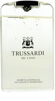 Trussardi My Land Douchegel voor Mannen 200 ml