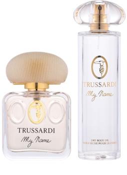 Trussardi My Name Greyhound Massage подарунковий набір I.