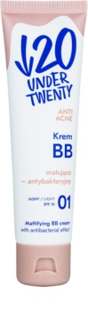 Under Twenty ANTI! ACNE matující BB krém s antibakteriálním účinkem SPF 10