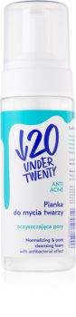 Under Twenty ANTI! ACNE čisticí pěna pro mastnou pleť se sklonem k akné
