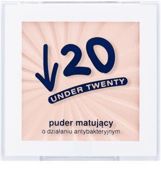Under Twenty ANTI! ACNE zmatňujúci púder pre mastnú pleť so sklonom k akné