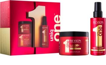 Uniq One All In One Hair Treatment kozmetični set IV.