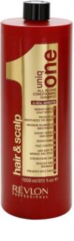 Uniq One All In One Hair Treatment Voedende Shampoo  voor Alle Haartypen