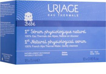Uriage 1érs Soins Bébés natürliches, physiologisches Serum zum Beruhigen der Augen und Nasenschleimhäute