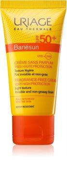 Uriage Bariésun Face Sun Cream Fragrance - Free SPF 50+