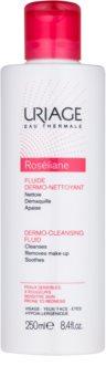 Uriage Roséliane Reinigungsfluid für empfindliche Haut mit der Neigung zum Erröten