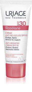 Uriage Roséliane dnevna krema za osjetljivu kožu lica sklona crvenilu SPF 30