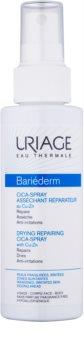 Uriage Bariéderm Cica підсушуючий відновлюючий спрей з вмістом меду та цинку