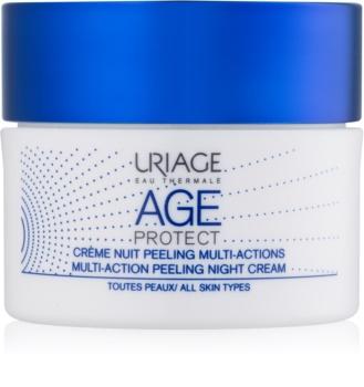 Uriage Age Protect multiaktivní peelingový krém na noc