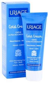 Uriage 1érs Soins Bébés creme nutritivo para corpo e rosto