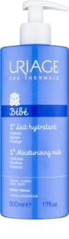 Uriage Bébé hydratační mléko na tělo a obličej pro děti od narození