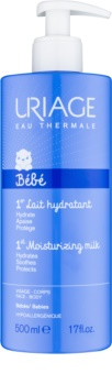 Uriage Bébé Moisturizing Face and Body Milk for Children from Birth