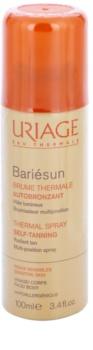 Uriage Bariésun Autobronzant samoopaľovací sprej na telo a tvár