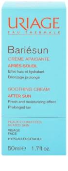 Uriage Bariésun заспокоюючий крем після засмаги для обличчя