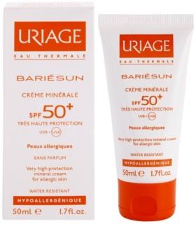 Uriage Bariésun Mineraal Beschermende Gezichts en Lichaams Crème SPF50+