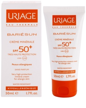 Uriage Bariésun Mineral Protection Face and Body Cream SPF 50+