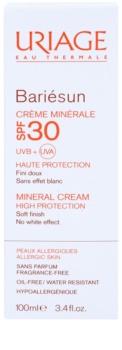 Uriage Bariésun Mineraal Beschermende Gezichts en Lichaams Crème SPF30