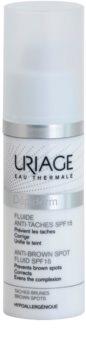 Uriage Dépiderm tekutina proti pigmentovým škvrnám SPF 15