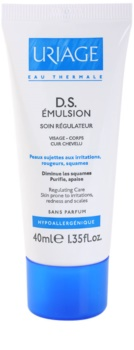 Uriage D.S. Soothing Emulsion On Cradle Cap