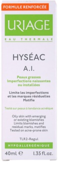 Uriage Hyséac A.I. mattierende Creme für fettige Haut mit Neigung zu Akne