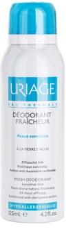 Uriage Hygiène desodorizante em spray com proteção 24 horas