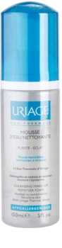 Uriage Hygiène espuma desmaquilhante e de limpeza para pele normal a mista