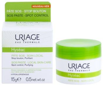 Uriage Hyséac tratamiento localizado de noche para imperfecciones de la piel con acné