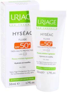 Uriage Hyséac matující fluid s hydratačním účinkem SPF50+
