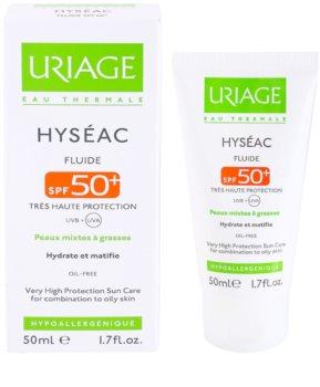 Uriage Hyséac fluido hidratante com efeito mate SPF 50+