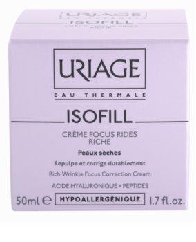 Uriage Isofill krem przeciw zmarszczkom do skóry suchej
