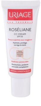 Uriage Roséliane CC Crème voor Gevoelige Huid met Neiging tot Roodheid