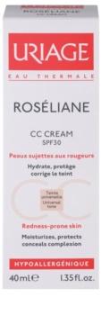 Uriage Roséliane СС крем для чутливої шкіри схильної до почервонінь