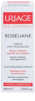 Uriage Roséliane Tagescreme für empfindliche Haut mit der Neigung zum Erröten