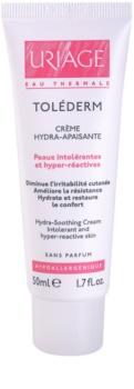 Uriage Toléderm creme hidratante e apaziguador para a pele intolerante