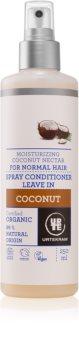 Urtekram Coconut condicionador restaurador leave-in para hidratação e brilho