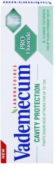 Vademecum Cavity Protection PRO Fluoride pasta de dientes anticaries