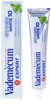 Vademecum Expert Express White 10 zobna pasta z belilnim učinkom