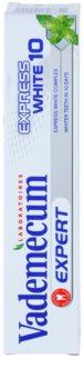 Vademecum Expert Express White 10 fogkrém fehérítő hatással