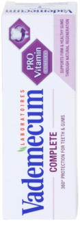 Vademecum Pro Vitamin Complete dentífrico