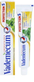 Vademecum Perfection 5 fehérítő fogkrém a fogak teljes védelméért
