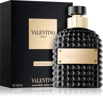 Valentino Uomo Noir Absolu eau de parfum férfiaknak 100 ml